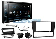 "PIONEER 6.2"" STEREO RADIO W CD/DVD PLAYER & BLUETOOTH W INSTALL KIT E90 E91 E92"