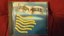 COMPILATION - DISCO ITALIA 91 (BERTOLI TAZENDA FARGO...). CD