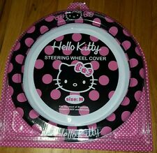 Sanrio Hello Kitty Car Steering Wheel Cover size Medium NEW