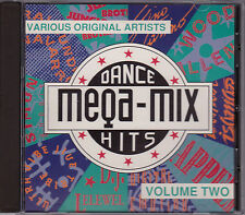 Mega-Mix Dance Hits Vol. Two - Various - CD (CD HAM 209 1990 Distronics Aus.)