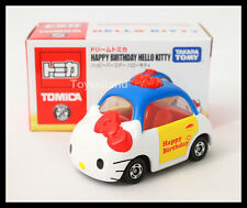 TOMICA DREAM HAPPY BIRTHDAY HELLO KITTY TOMY  Diecast Car 2014 Asia SPECIAL