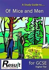 A Study Guide to Of Mice and Men for GCSE: Higher Tier (Paperback)