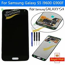 For Samsung Galaxy S5 i9600 G900F LCD Display Touch Screen Replacement Black UK