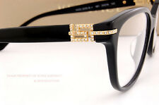 Brand New VERSACE Eyeglasses Frames 3205B GB1 BLACK  Women 100% Authentic SZ 54