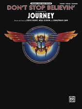 Original Sheet Music Edition: Don't Stop Believin' by Journey Group Inc....