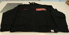 Team Canada 2014 Sochi Olympics M Black Full Zip N98 Track Jacket Hockey