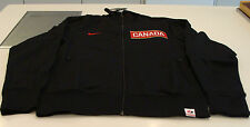 Team Canada 2014 Sochi Olympics S Black Full Zip N98 Track Jacket Hockey