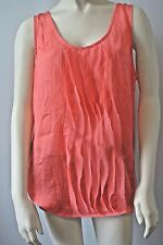 GAP Women Waterfall Ruffle Tank  Blouse Shirt NwT Large