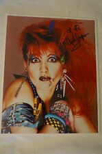 Cindi Lauper - Colour Photo - Personally signed by Cindi  w/ COA