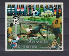 s5634) KOREA 1981 MNH** WC Football'82 - CM Calcio S/S Gold Cup Uruguay