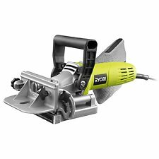 Ryobi 600W Corded Biscuit Joiner, Fully Adjustable Front Fence - Case Included
