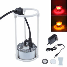 Water Aquarium Fog Wist Maker Fogger Mister Light Atomizer fountain Pond US Plug