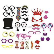 Funny Photo Booth Props Kits Birthday Party Accessory Set of 31pcs