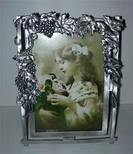 "BEAUTIFUL  PEWTER ""VICTORIAN STYLE"" PICTURE FRAME"