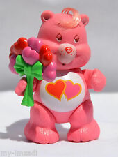 Vintage Poseable CARE BEAR Figure 1983 Kenner LOVE A LOT Toy Accessory Complete