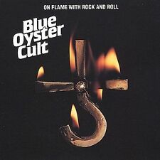 "BLUE OYSTER CULT ""ON FLAME WITH ROCK AND ROLL"" 10 KILLER TRACKS"