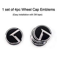 [Kspeed] (Fits: KIA Cerato Forte RIO Sorento R) K Logo Wheel Cap Emblems