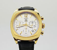 Mint TAG Heuer Monza Chronograph 18K Yellow Gold Automatic Watch CR514A