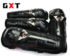 Motorcycle Racing Motocross Knee & Elbow Pads Protector Guards Armor Gear