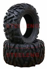Set of 4 New ATV/UTV Tires 2 of 27x10-14 Front and 2 of 27x12-14 Rear /6PR P350