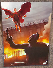 Batman vs Superman Glossy Print 11 x 17 In Hard Plastic Sleeve