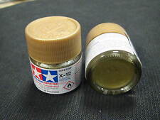 "Tamiya ""Mini"" Acrylic model paint - X-12 81512 Gold Leaf (gloss)"