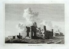 HOLY ISLAND MONASTERY, LINDISFARNE, NORTHUMBERLAND, plate3 antique print 1785