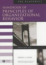 The Blackwell Handbook of Principles of Organizational Behavior Blackwell Handb