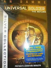 UNIVERSAL SOLDIER THE RETURN FILM IN BLU-RAY NUOVO DA NEGOZIO ANCORA INCELLOFANA