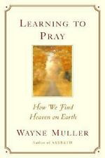 Learning to Pray : How We Find Heaven on Earth by Wayne Muller (2004, Paperback)