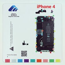 iPhone 4 Magnetic Screw Chart Mat Repair Professional Guide Pad Tools