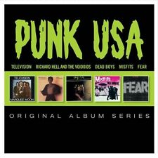 PUNK USA Original Album 5CD NEW Television/Richard Hell/Dead Boys/Misfits/Fear