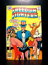 COMICS: DC: Freedom Fighters #5 (1976), 1st Martha Roberts app - RARE (flash)