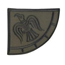 Viking Raven Banner Odin God of War Olive Drab D power patch VELCRO® brand
