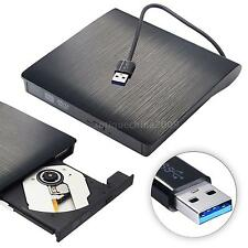 USB Portable External CD DVD Drive DVD-RW Burner Reader For Laptop Desktop Z7T3