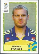 PANINI EURO 2000-BLACK BACKS- #134-SWEDEN-SVERIGE-MAGNUS SVENSSON