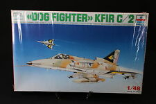 YA026 ESCI 1/48 maquette avion 4007 Dog Fighter KFIR C/2 Israel