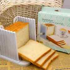 Bread Slicer Cutter Mold Kitchen Loaf Toast Peeler Slicing Cutting Plastic Tool