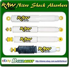 Raw 4x4 Nitro Front Shock Absorbers Holden Rodeo TFS, R7, R9