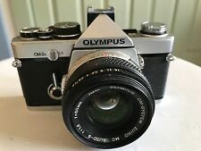 Olympus OM-2 35mm SLR Film Camera with 50 mm lens f/1.8 MINTY