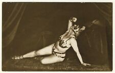 Art Deco Dancer MARA MANDELIK Tänzerin * Vintage 1920s Real Photo PC