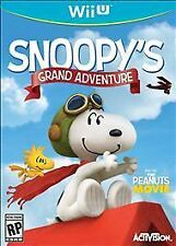 Wii U Peanuts Movie: Snoopy's Grand Adventure  (in original case)