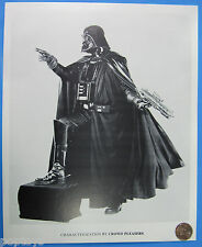 PHOTO STILL - DARTH VADER store appearance promo '70s '80s vintage