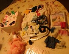 BARBIE Doll and bundle shoes and clothes and Barbie Rapunzel CD ROM