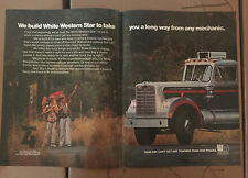 Vintage White Motor Corporation : White Western Star Truck Advertisement