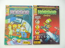 2x Bande dessinée-simpson numéro spécial-Bart simpson's horror show, NR: 3. et 4. top