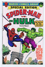 Spider-Man vs. Hulk Columbus Dispatch Ad Supplement 1979 VF/NM Marvel Comics