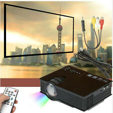 New UC40+ 1800 lumens LED Mini Projector Home Cinema Business HDMI AV SD 1080P