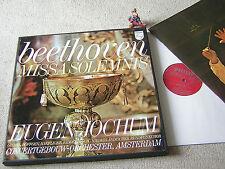 BEETHOVEN Missa Solemnis JOCHUM CGOA GIEBEL, 1971 NL 2LP BOX PHILIPS 6799 001