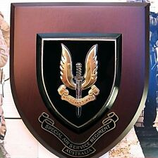 AUSTRALIAN ARMY SAS SPECIAL AIR SERVICE REGIMENT SPECIAL FORCES WALL PLAQUE